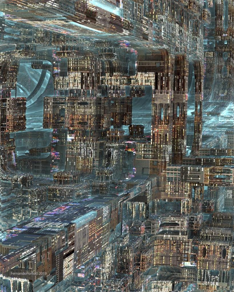 city fractal
